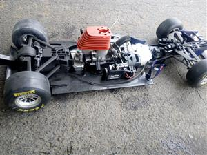 Kyosho rc F1 racing car