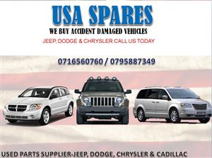 WANTED!!! JEEP, DODGE AND CHRYSLER. SELL YOUR VEHICLE