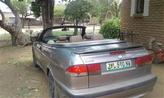 2002 Saab 9-3 convertible 2.0t Linear