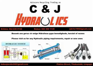 C&J Hydraulic Piping