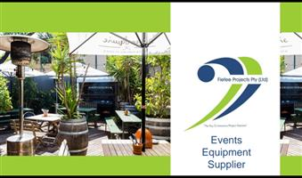 Events equipment supplier