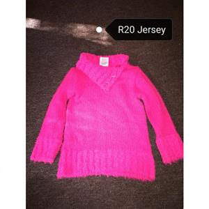 Bright pink jersey for sale
