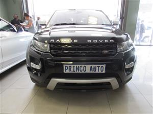 2013 Land Rover Range Rover Evoque 5-door EVOQUE 2.0 DYNAMIC AUTOBIOGRAPHY