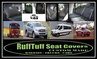 SEAT COVERS-BAKKIES/TRUCKS/CARS - FREE DELIVERY