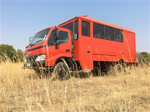 15 Seater Adventure Overland Tour Truck Toyota Dyna