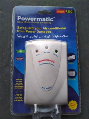 Powermatic air-conditioning  power protection filters