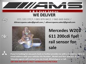MERCEDES 200CDI W203 611 FUEL RAIL SENSOR