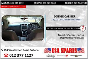 DODGE CALIBER 2.0 USED INTERIOR SPARES/PARTS