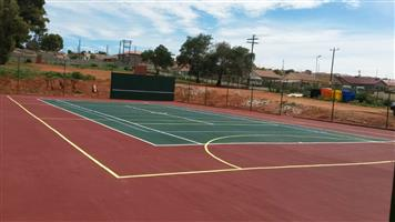 M AND AA Tennis Courts Construction and Fencing