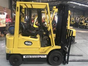 1.8 ton Hyster petrol/LP gas forklift