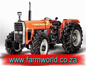 Orange TAFE 9502 DI 12 Speed 68kW/81Hp 4x4 New Tractor