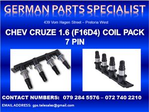 Chev Cruze 1.6 (F16D4) Coil Pack 7 Pin