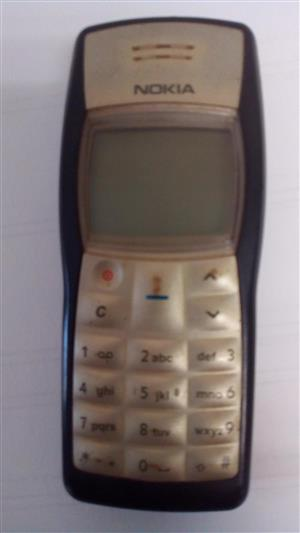 Nokia1100 - Cellphone selling as SPARE PARTS