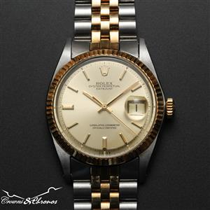 1972 Rolex Datejust Oyster Perpetual Ref 1601 Cal 1570 Box & Papers (Full set)