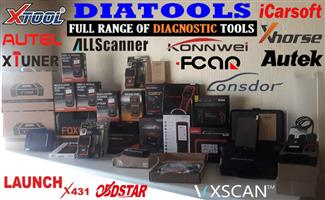 Auto Diagnostic machines / tools, Key programmer, Mileage correctors, Heavy Duty Trucks, Motorcycles for sale quality brands at affordable prices always.