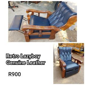 Retro lazy boy for sale.