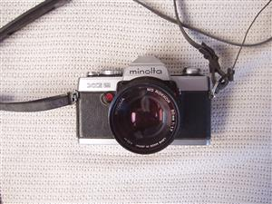 Minolta XG 2 Film Camera with Minolta Rokkor 50mm - in excellent condition