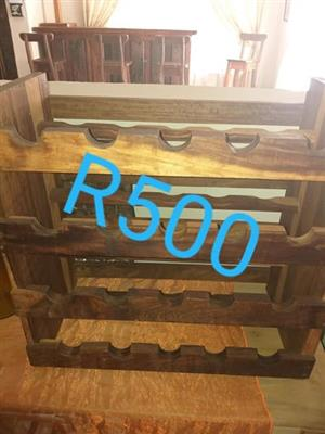 Wooden wine holder for sale