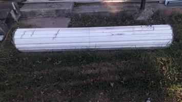 Garage Door and brackets - R500