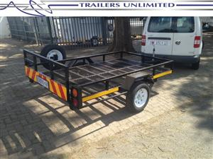 TRAILERS UNLIMITED 2600 X 1600 X 200 GOLF CAR TRAILER.
