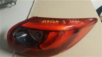 MAZDA 3 2014 up TAILLIGHTS FOR SALE
