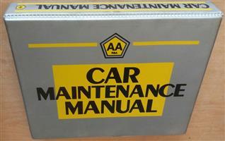 AA RSA Car Maintenance Manual
