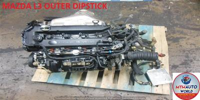 Second hand used low mileage MAZDA3/5/6 2.3 L OUTER DIPSTICK PLUG WIRE engines for sale