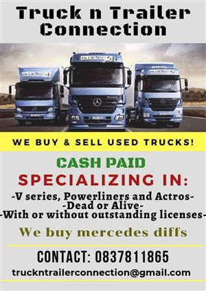 We Buy Trucks