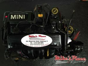 Mini Cooper 1.6 2003-2007 W10B16A Engine for sale at Mikes Place