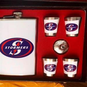 flask and shooter gift set