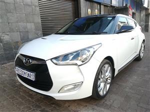 2015 Hyundai Veloster 1.6 Executive