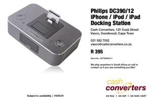 Philips DC390/12 iPhone / iPod / iPad Docking Station