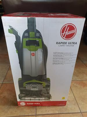 Rapide ultra carpet washer