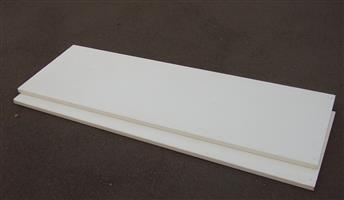 Counter Tops x 2 -  for Built-in cupboards - Cream - 1.83cm X60cm X 30mm