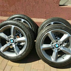 BMW OEM 17IN MAGS & TYRES