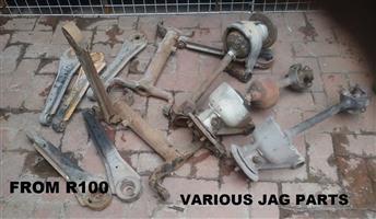 VARIOUS JAG PARTS FROM R 100.00