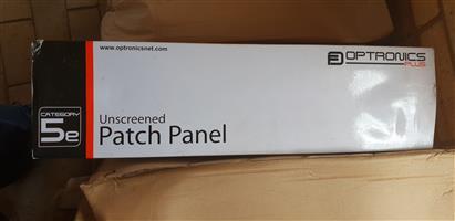 5e 48 way optronic patch panels