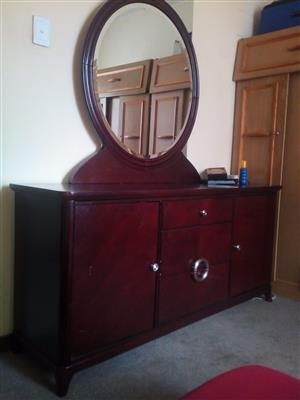 Designer mahogany dressing-table