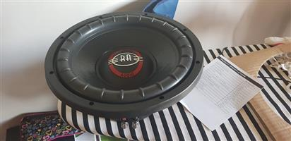 """Reference Audio 12"""" subwoofers"""