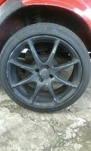 "17"" rims an Tyres"