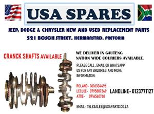 JEEP , DODGE & CHRYSLER CRANK SHAFTS (FOR SALE)