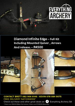 Diamond Infinite Edge Compound Bow For Sale