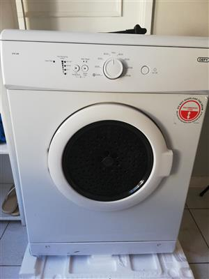 Defy white tumble dryer
