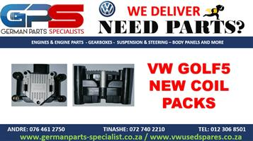 VW GOLF 5 NEW REPLACEMENT COIL PACK