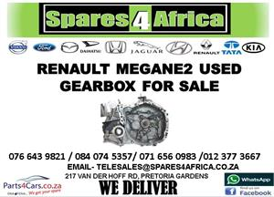RENAULT MEGANE 2 USED GEARBOX FOR SALE