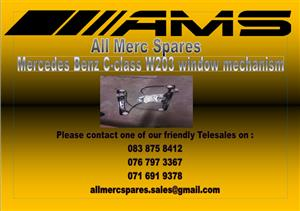 MERCEDES BENZ C-CLASS W203 WINDOW MECHANISM FOR SALE