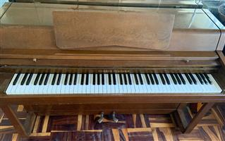 Edward Fischer Upright Piano for Sale