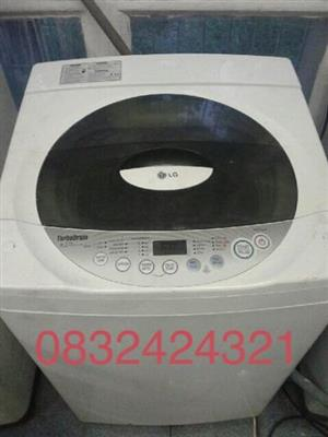 Lg 8.2kg Top Loader Washing machine