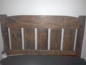 Sleeperwood queen size headboard and base