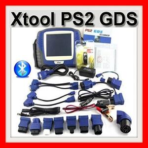 Auto code reader XTOOL PS2 GDS Gasoline Bluetooth Diagnostic Tool with Touch Screen Update Online
